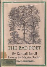 """MAURICE SENDAK """"The Bat-Poet"""" (1964)  SIGNED First Printing of the FIRST EDITION"""