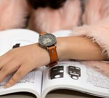 Beautiful high quality Women vintage leather watch