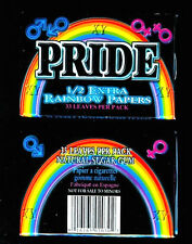 Pride - Printed Cigarette Rolling Papers Lot RARE