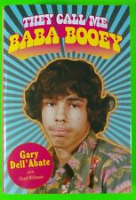 They Call Me Baba Booey by Gary Dell'Abate Hardcover Book Howard Stern Show