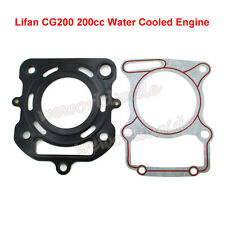 Cylinder Head Gaskets For Lifan CG200 200cc Water Cooled Engine ATV Dirt Bike