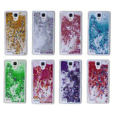 Dynamic Liquid Glitter Star Quicksand Hard Plastic Case For Apple iPhone Samsung