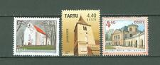 Estonia C78 MNH 2005 2v Castle Palace Church Below face