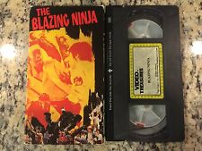 THE BLAZING NINJA RARE OOP VHS! 1973 MARTIAL ARTS CLASSIC YI TAO CHANG KARATE!
