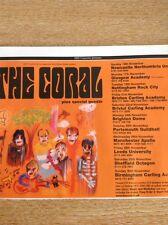 Ephemera Tour Advert 2003 The Coral