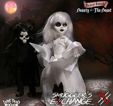 BEAUTY AND THE BEAST, Living Dead Dolls, Scary, Mezco Toyz NEW! SHIPS NEXT DAY!