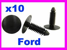 10 FORD plastic fixing fasteners screw clips car 12P