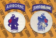 US Army School of the America's Special Operations Airborne patch m/e