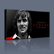 GEORGE BEST CANVAS ART MANCHESTER UNITED - Art Williams