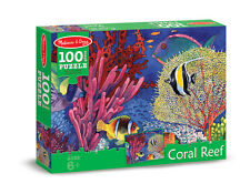 CORAL REEF JIGSAW PUZZLE~100 pcs~ Melissa and & Doug 8942