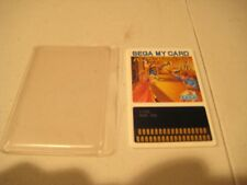 JAPAN IMPORT SEGA CARD BANK PANIC SC1000/3000/MARK 3/JAPAN MASTER SYSTEM