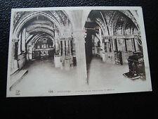 FRANCE  - carte postale toulouse (cryptes de la basilique st-sernin(cy22) french