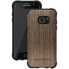 BALLISTIC UT1689-B20N Samsung Galaxy S7 edge Urbanite Case (Black/Brown Wood)