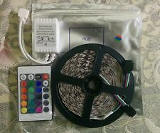 COMBO 5m 300 LED Reel | 5050 RGB NON-Waterproof Strip | 12V DC | 60 LED / Meter
