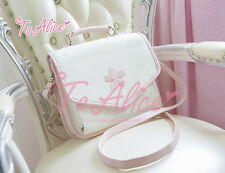 Girl Sweet Lolita Kawaii Japanese Backpack Shoulders Bag Messenger Bag Handbag #