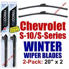 WINTER Wipers 2-Pk Premium fit 1994-2004 Chevy S-10 / Chevrolet S-Series 35200x2