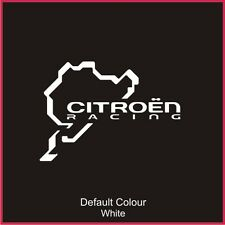 Nurburgring Citroen Racing Race Circuit Decal, Track, Vinyl, Sticker, N2025