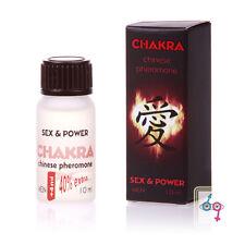 CHAKRA eau de COLOGNE with PHEROMONES 10ml for MEN spicy & seductive ORIENT