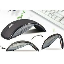 10M MAX Black Folding 2.4GHz Wireless Optical Mouse/Mice for PC Laptop
