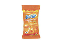 DUZZIT MULTISURFACE WIPES 150x 3 PACK ALL SURFACES ORANGE SCENT