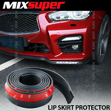 MIXSUPER Rubber Bumper Lip Splitter Chin Spoiler Skirt EZ Protector for Mazda