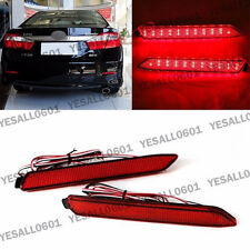 2pcs LED Rear Bumper Reflector Brake Lights for Toyota Camry Reiz Matrix Venza
