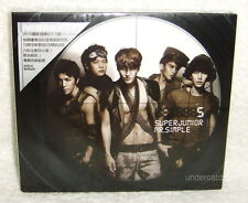 Korea Super Junior Mr. Simple Taiwan CD+ 50P booklet+ Card Type B 「Superman」