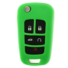Green GM Flip Key Protective Silicone Case cover
