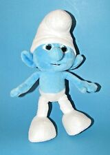 "Smurf Plush Stuffed 10"" 2011 ""THE SMURFS MOVIE"" by Jakks Pacific"