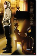 POSTER #1198 72 YE 22 X 34 JUSTIN BIEBER - PIANO