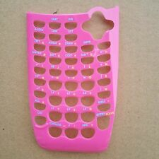 Texas Instruments TI-84 Plus C Silver Edition Graphing Calculator Faceplate-Pink