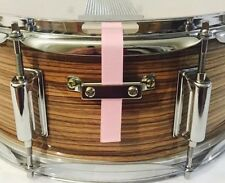 SnareFlair Snare Drum Straps Percussion Shell Pink USA Made