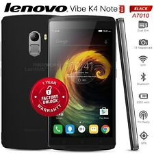 "New Unlocked Lenovo Vibe K4 Note A7010 Black 4G LTE 5.5"" Octa Core Cell Pho"