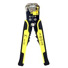 Automatic Wire Stripper Crimper Pliers Cable Cutter Stripping Crimping Tool H8X8