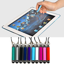 Retractable Mini Touch Pen For Tablet Screen PC Touch Smart Phone 10Pc