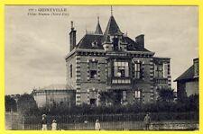 cpa RARE QUINÉVILLE (Manche) VILLAS BIANCA Ed. Librairie Henn Brochard VALOGNES
