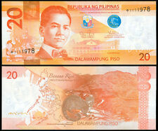 2012 NEW GENERATION 20 Pesos STARNOTE / Replacement Philippine Banknote