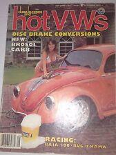 Dune Buggies And Hot VWs Magazine Disc Brake Convert September 1982 042117nonrh