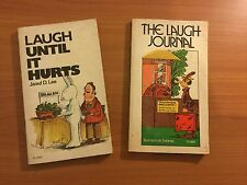 The Laugh Journal & Laugh Until it Hurts (Vintage Scholastic)