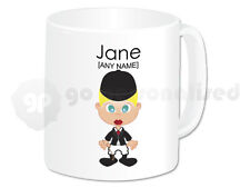 Personalised Gift Female Jockey Mug Horse Rider Present Novelty Fun Christmas #2