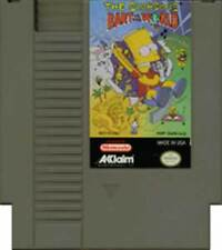 Bart Vs. The World - NES Nintendo Simpsons Game