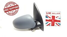 VW GOLF MK5 2004-2009 ELECTRIC PRIMED DOOR WING MIRROR O/S DRIVER SIDE