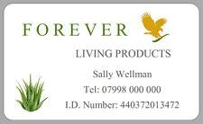 21 ADESIVI Forever Living prodotto indirizzo etichette Aloe Vera prodotti personalizzati
