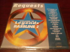 LEGENDS KARAOKE CD+G BASSLINE VOL 16 REQUESTS NEW
