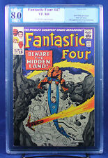 Fantastic Four #47 (Marvel 1963) PGX (not CGC) 8.0 VF / Inhumans!!!