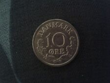 DENMARK 10 ORE COIN DATED 1961