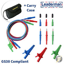 LDM165 Test Lead Set for Fluke 1651 1652 1653 1654 Multifunction Testers +LDMC50