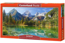Castorland C-400065 Puzzle Majesty of the Mountains Gebirge See Natur 4000 Teile