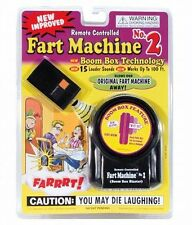 1 Fart Machine #2 Wireless Remote Control & 1 Fart Stink Bomb Spray Can Set