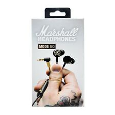 Marshall Mode EQ In-Ear Headphones, Black/Brass, New in Box